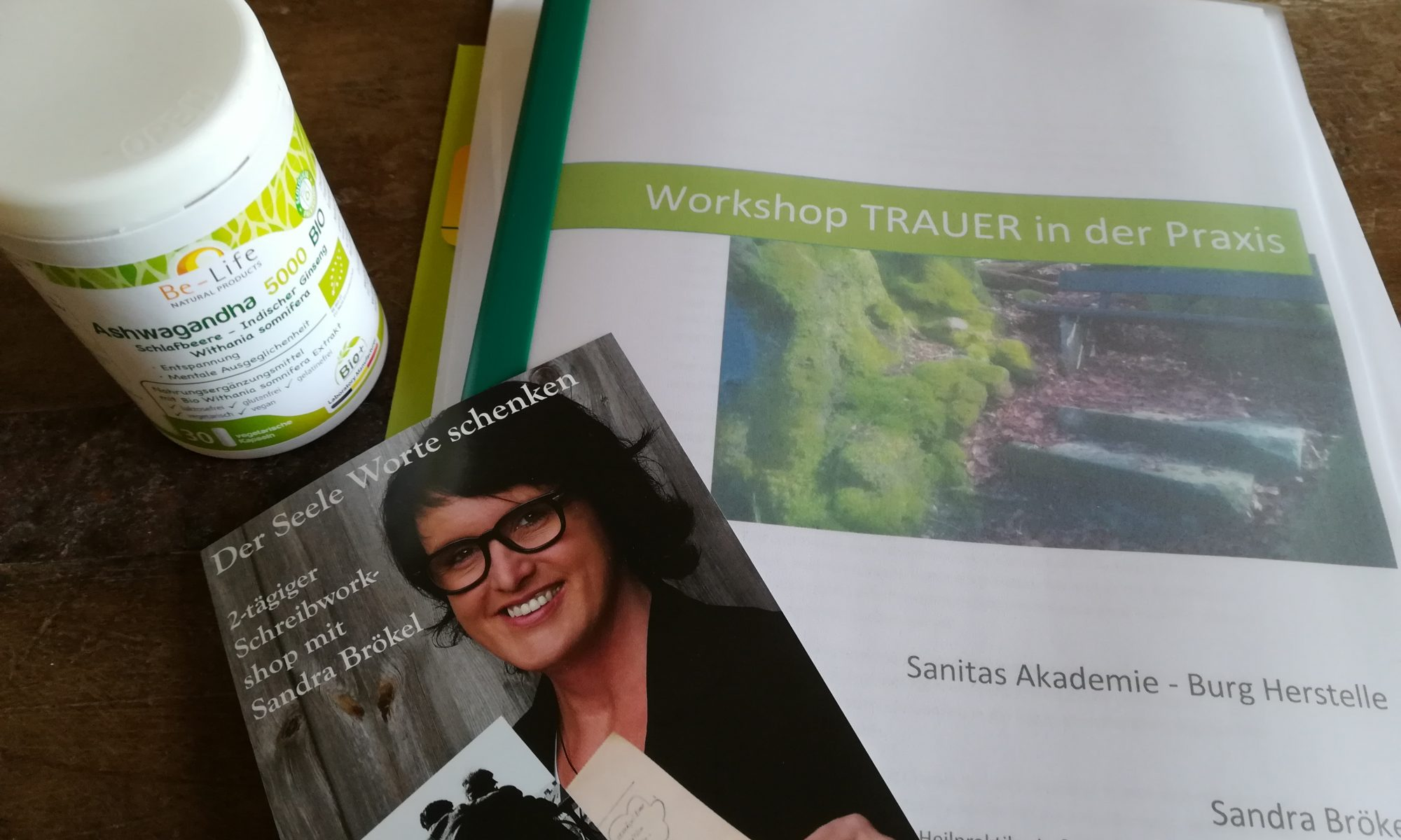 Workshop mit der Trauertherapeutin Sandra Brökel